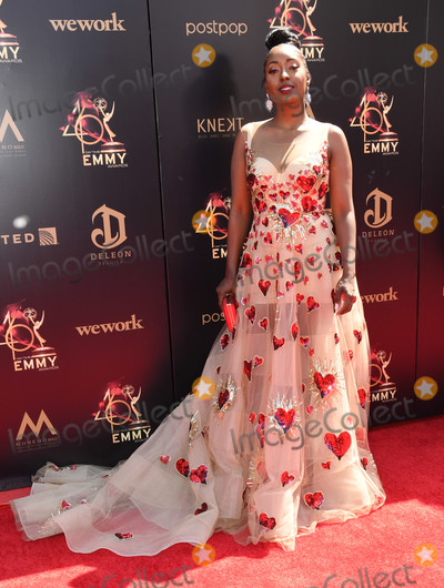 Ashly Williams Photo - 05 May 2019 - Pasadena California - Ashly Williams 46th Annual Daytime Emmy Awards - Arrivals held at Pasadena Civic Auditorium Photo Credit Birdie ThompsonAdMedia