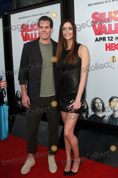 Cameron Winklevoss Photo - 02 April 2015 - West Hollywood California - guest Cameron Winklevoss attends Los Angeles Premiere for the second season of the HBO comedy series Silicon Valley held at the El Capitan Theatre Photo Credit Theresa BoucheAdMedia