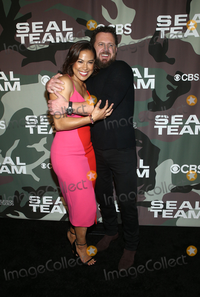 AJ Buckley Photo - 25  February 2020 - Hollywood California - Toni Trucks AJ Buckley SEAL Team TV show premiere held at ArcLight Cinemas Photo Credit FSAdMedia