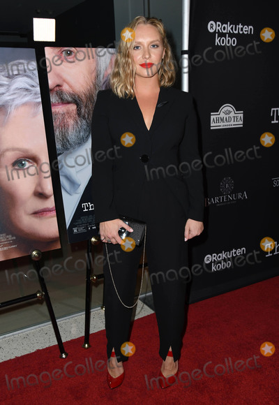 Annie Starke Photo - 23 July 2018 - West Hollywood  California - Annie Starke The Wife Los Angeles Premiere held at the Pacific Design Center Silverscreen Theater Photo Credit Birdie ThompsonAdMedia