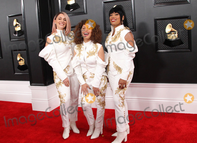 Isaach De Bankol Photo - 26 January 2020 - Los Angeles California - Shae Fiol Julie Acosta and Mireya Ramos of the band Flor de Toloache 62nd Annual GRAMMY Awards held at Staples Center Photo Credit AdMedia
