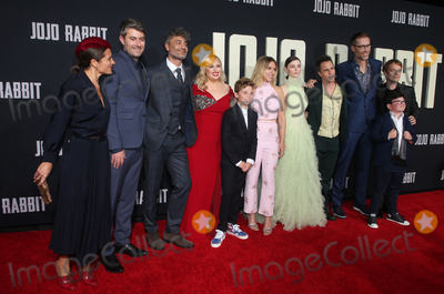 Alfie Allen Photo - 15 October 2019 - Los Angeles California - Chelsea Winstanley Carthew Neal Taika Waititi Rebel Wilson Roman Griffin Davis Scarlett Johansson Thomasin McKenzie Sam Rockwell Stephen Merchant Archie Yates Alfie Allen Premiere Of Fox Searchlights Jojo Rabbit held at Post 43 Photo Credit FayeSAdMedia