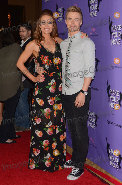 Amy Purdy Photo - 31 March 2014 - Los Angeles California -  Amy Purdy Derek Hough Cast arrivals for the LA screening of Make Your Move held at Pacifics The Grove Stadium 14 in Los Angeles Photo Credit Birdie ThompsonAdMedia
