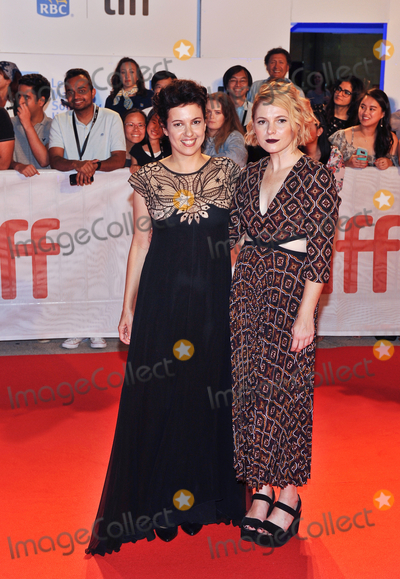 Amy Seimetz Photo - 15 September 2017 - Toronto Ontario Canada - Tali Shalom-Ezer Amy Seimetz  2017 Toronto International Film Festival - My Days Of Mercy Premiere held at Roy Thomson Hall Photo Credit Brent PerniacAdMedia