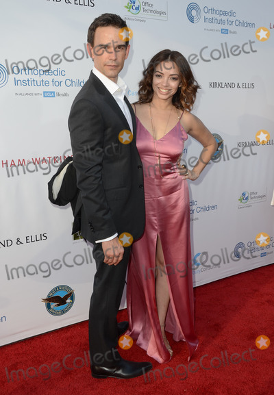 Anel Lopez Photo - 17 June 2016 - Los Angeles Christopher Gorham Anel Lopez Gorham Arrivals for the 2016 Stand For Kids Annual Gala benefitting Orthopaedic Institute for Children held at Twentieth Century Fox Studios Lot - New York Street Photo Credit Birdie ThompsonAdMedia