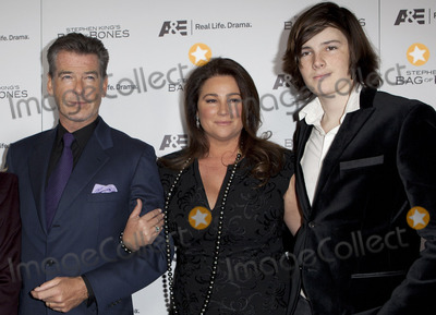 Keely Smith Photo - 8 December 2011 - West Hollywood California - Pierce Brosnan Keely Shaye Smith Dylan Stephen Kings BAG OF BONES Miniseries Premiere on AE held at Fig and Olive Photo Credit Emiley SchweichAdMedia