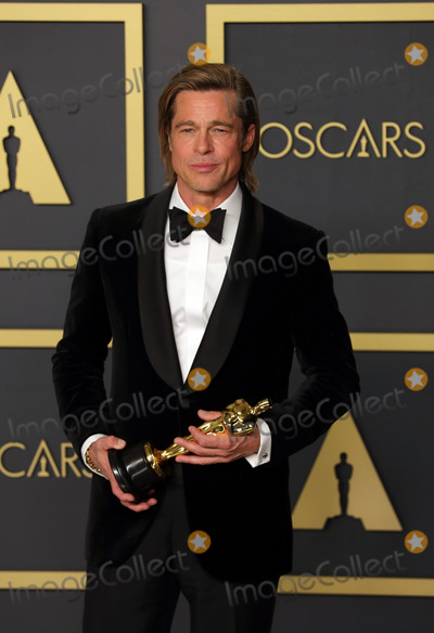 Brad Pitt Photo - 09 February 2020 - Hollywood California - Brad Pitt attends the 92nd Annual Academy Awards presented by the Academy of Motion Picture Arts and Sciences held at Hollywood  Highland Center Photo Credit Theresa ShirriffAdMedia