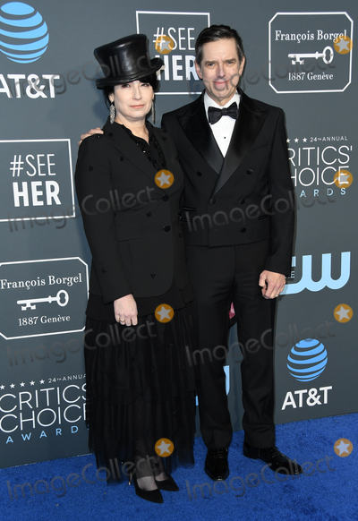 Amy Sherman-Palladino Photo - 13 January 2019 - Santa Monica California - Amy Sherman-Palladino The 24th Annual Critics Choice Awards held at Barker Hangar Photo Credit Birdie ThompsonAdMedia