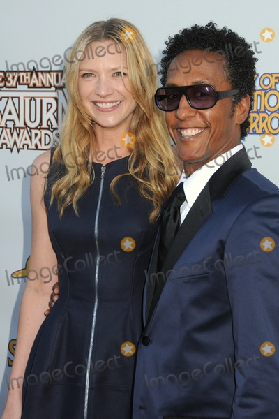 Andre Royo Photo - 23 June 2011 - Burbank California - Anna Torv and Andre Royo 37th Annual Saturn Awards held at The Castaway Photo Credit Byron PurvisAdMedia