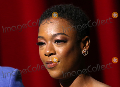 Samira Wiley Photo - 12 July 2018-  North Hollywood California - Samira Wiley 70th Emmy Awards Nominations Announcement held at Saban Media Center Photo Credit Faye SadouAdMedia