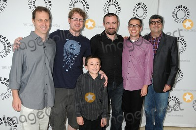 Atticus Shaffer Photo - 13 August 2011 - Beverly Hills California - Jon Weisman Justin Roiland Atticus Shaffer Maxwell Atoms Noah Z Jones and Dana Snyder PaleyFest Family 2011 Presents Disneys Fish Hooks held at The Paley Center for Media Photo Credit Byron PurvisAdMedia