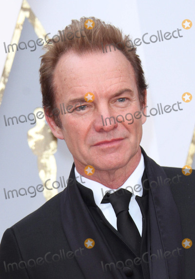 Sting Photo - 26 February 2017 - Hollywood California - Sting 89th Annual Academy Awards presented by the Academy of Motion Picture Arts and Sciences held at Hollywood  Highland Center Photo Credit AdMedia