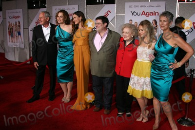 Andy Fickman Photo - Sigourney Weaver Odette Yustman Andy Fickman Betty White Kristen Bell Jamie Lee Curtisat the You Again Los Angeles Premiere El Capitan Theater Hollywood CA 09-22-10