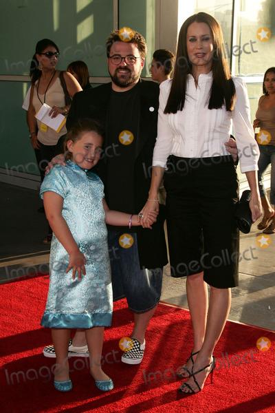 Jennifer Schwalbach Smith Photo - Kevin Smith with Jennifer Schwalbach Smith and Harley Quinn Smithat the premiere of Clerks ll Arclight Cinemas Hollywood CA 07-11-06