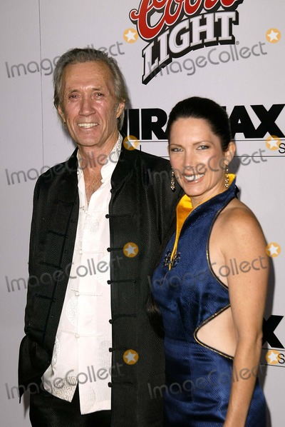 Annie Bierman Photo - David Carradine and Annie Bierman at the Los Angeles premiere of Miramaxs Kill Bill Vol 1 at the Chinese Theater Hollywood CA 09-29-03