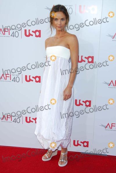Gabrielle Anwar Photo - Gabrielle Anwarat the 35th Annual AFI Life Achievement Award celebration honoring Al Pacino Kodak Theatre Hollywood CA 06-07-07