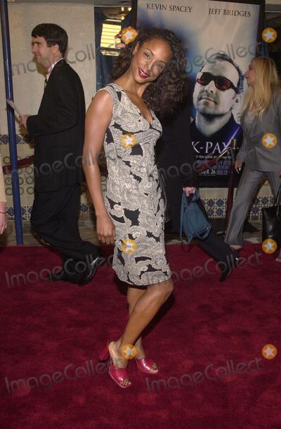 Trina McGee Davis Photo -  Trina McGee Davis at the premiere of Universals K-PAX Manns Village Theater in Westwood 10-22-01