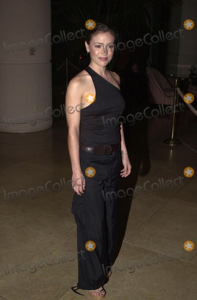 Alyssa Milano Photo -  Alyssa Milano at the first Hollywood Make-Up and Hair Stylist Awards Beverly Hills 03-19-00