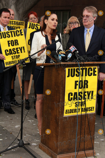 Casey Kasem Photo - Kerri Kasemat Casey Kasems Family Press Conference Stanley Mosk Courthouse Los Angeles CA 01-30-15