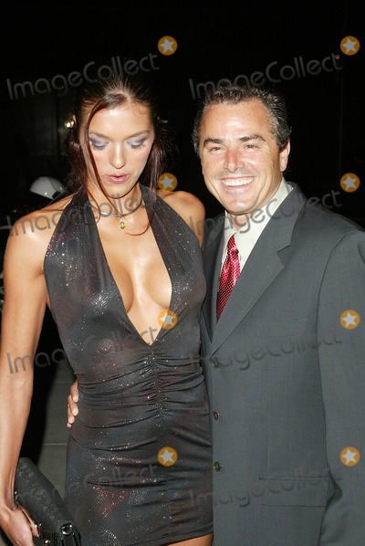 Adrianne Curry Photo - Adrianne Curry and Christopher KnightAt The Roof is on Fire Party Museum of Television and Radio Beverly Hills CA 08-23-05