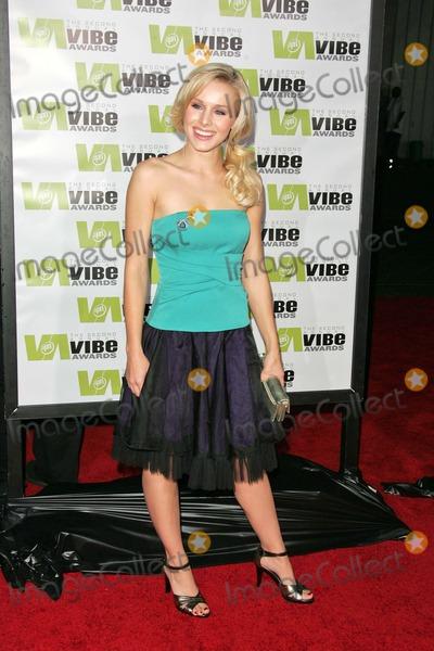 Kristen Bell Photo - Kristen Bell at the 2004 Vibe Awards Barker Hanger Santa Monica CA 11-15-04