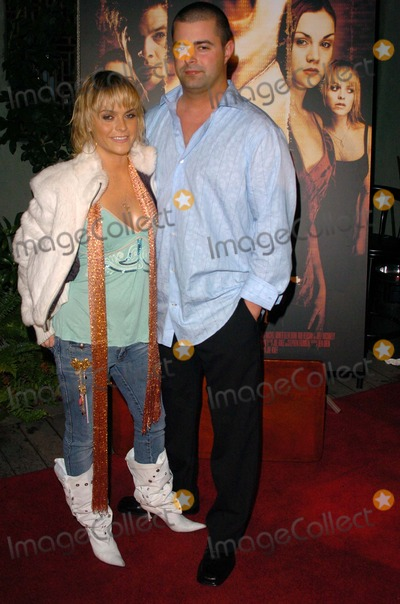 Cult Photo - Taryn Manning and Joe Knee at the wrap party for the film Cult White Lotus Hollywood CA 02-22-05