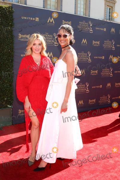 Daphne Oz Photo - Daphne Oz Carla Hallat the 44th Daytime Emmy Awards - Arrivals Pasadena Civic Auditorium Pasadena CA 04-30-17