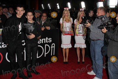 Asa Butterfield Photo - Asa Butterfield Aramis Knight Anne McDaniels Kourtney Pogueat the Jackass Presents Bad Grandpa Los Angeles Premiere Chinese Theater Hollywood CA 10-23-13