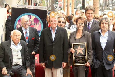 Alan Ladd Photo - Johnny Grant with Mel Brooks and Alan Ladd Jrat the award ceremony honoring Alan Ladd Jr with a star on the Hollywood Walk of Fame Hollywood Blvd Hollywood CA 09-28-07