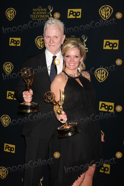 Tony Geary Photo - Tony Geary Maura West at the 2015 Daytime Emmy Awards Press Room at the Warner Brothers Studio Lot on April 26 2015 in Los Angeles CA Copyright David Edwards  DailyCelebcom 818-249-4998
