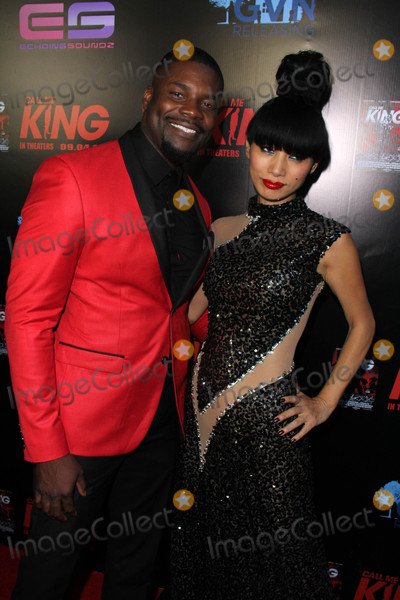 Amine Photo - Amin Joseph Bai Lingat the Call Me King Screening Downtown Independent Los Angeles CA 08-17-15