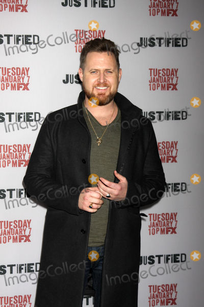 AJ Buckley Photo - AJ Buckleyat the Justified Premiere Screening Directors Guild of America Los Angeles CA 01-06-14