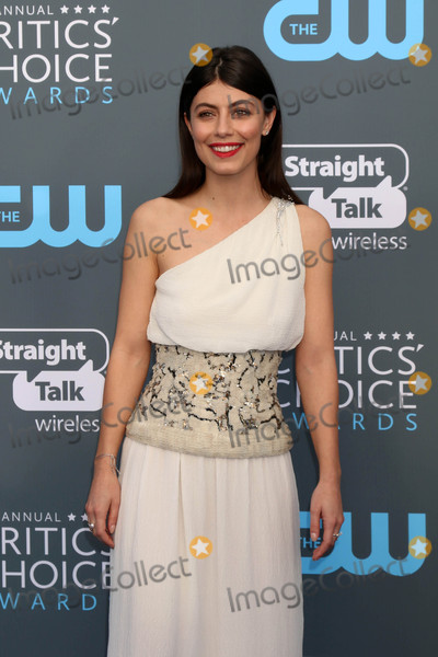 Alessandra Mastronardi Photo - Alessandra Mastronardiat the 23rd Annual Critics Choice Awards Barker Hanger Santa Monica CA 01-11-18