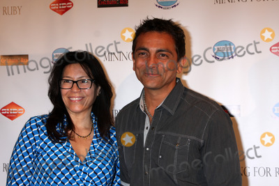 Anil Kumar Photo - Kimberly Kumar Anil Kumarat the Mining For Ruby Special Screening The Downtown Independent Los Angeles CA 07-30-14