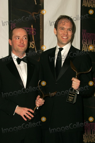 Christopher Markus Photo - Christopher Markus and Stephen McFeelyin the press room at the 2006 Writers Guild Awards Hollywood Palladium Hollywood CA 02-04-06