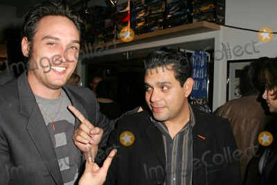 Alex A Quinn Photo - Alex Quinn and Raul Julia-Levyat a party before a Katrina Wilma and Rita Hurricane relief Auction benefitting Save the Children Automotive Legends Malibu CA 11-11-05
