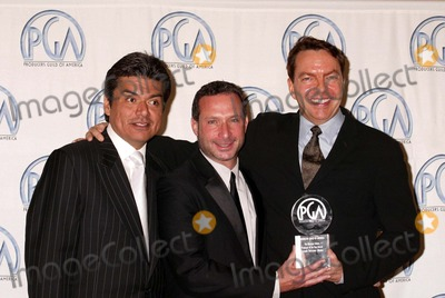 Alan Poul Photo - George Lopez Alan Poul and Alan Ball at the 15th Annual Producers Guild Awards Century Plaza Hotel Century City CA 01-17-04