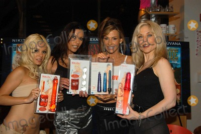 Alexandra Silk Photo - Carmen Luvana Nikita Denise Alexandra Silk and Nina Hartley at Hustler Hollywood unveils Adam and Eves New Toy Line Hustler Hollywood West Hollywood 08-07-03