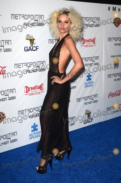Ava Capra Photo - Ava Capraat the Metropolitan Fashion Week Closing Gala and Awards Show Warner Bros Studios Burbank CA 10-01-16