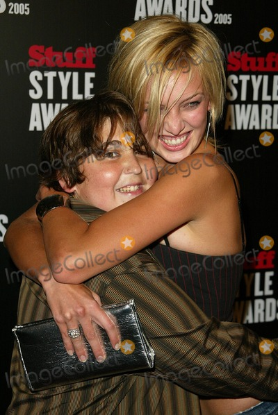 Andy Milonakis Photo - Andy Milonakis and friend at the 1st Annual Stuff Style Awards The Hollywood Roosevelt Hotel Hollywood CA 09-07-05