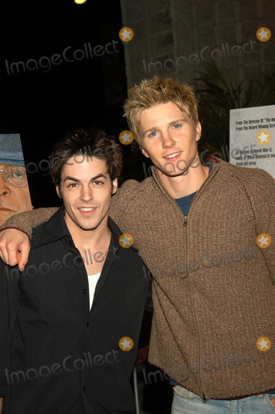 Thad Luckinbill Photo - David Lago and Thad Luckinbill at Los Angeles Premiere of The Statement The Academy of Motion Picture Arts and Sciences Beverly Hills Calif 12-09-03