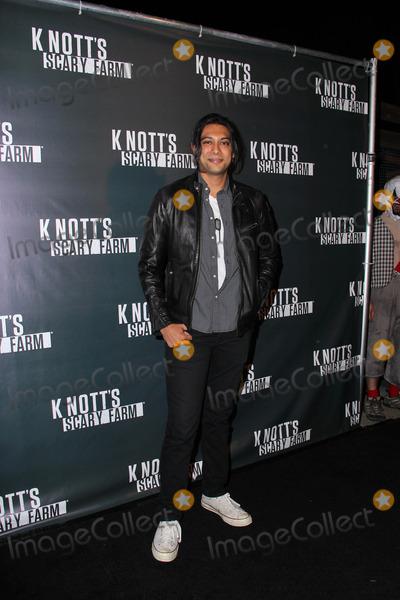 Abhi Sinha Photo - Abhi Sinhaat the Knotts Scary Farm Celebrity VIP Opening Knotts Berry Farm Buena Park CA 10-02-14