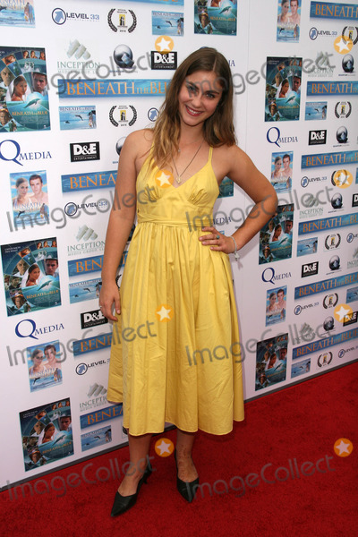 Caitlin Wachs Photo - Caitlin Wachs at a screening of Beneath the Blue at the Hollywood Film Festival Arclight Hollywood CA 10-23-10