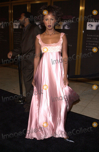 Trina McGee Davis Photo -  Trina McGee-Davis at the premiere of Dreamworks The Contender in Westwood 10-05-00