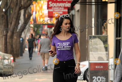 Allstar Weekend Photo - Natasha Blasickthe Ukranian actress who appears in the upcoming All-Star Weekend with Jamie Foxx spotted shopping in Hollywood wearing an interesting t-shirt Hollywood CA 11-26-17