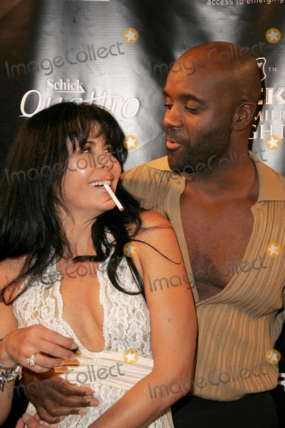 Alan Ray Photo - Maria Conchita Alonso and Alan Rayat Gen Art Fresh Faces in Fashion Barker Hangar Santa Monica CA 10-14-05