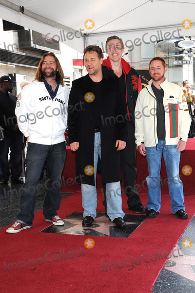 Kevin Durand Photo - Alan Doyle Russell Crowe Kevin Durand and Scott Grimesat the Russell Crowe star ceremony into the Hollywood Walk of Fame Hollywood CA 04-12-10
