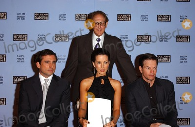 Steve Carell Photo - Philip Berk and Steve Carell with Kate Beckinsale and Mark Wahlbergat the 63rd Annual Golden Globe Awards Nominations Press Conference Beverly Hilton Hotel Beverly Hills CA 12-13-05