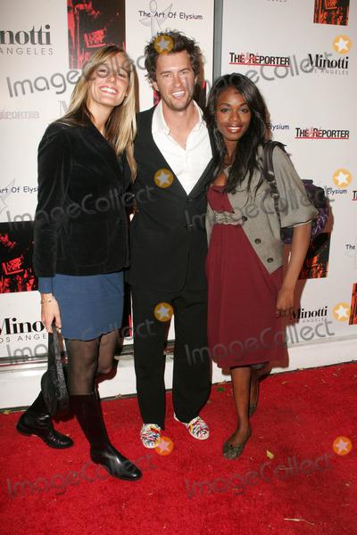 Blake Mycoskie Photo - Crystal Fambrini with Blake Mycoskie and Nzinga Blakeat the Art of Elysium Annual Art Benefit Minotti Los Angeles CA 12-02-06
