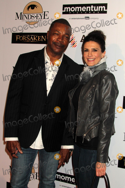 Carl Weathers Photo - Carl Weathers Christine Kludjianat the Forsaken Los Angeles Special Screening Autry Museum of the American West Los Angeles CA 02-16-16